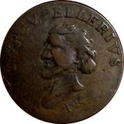 UK 1/2 Penny Hispannniola - Tvrcvpellerivs ND (1793-1795)  TVRCVPELLERIVS I.K coin obverse