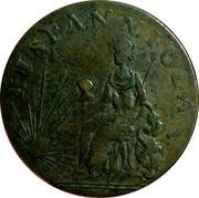 UK 1/2 Penny Hispannniola - Tvrcvpellerivs ND (1793-1795)  HISPANNIOLA coin reverse