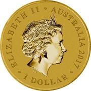 Australia 1 Dollar Women in War 2017 P BU ELIZABETH II AUSTRALIA 2017 1 DOLLAR IRB coin obverse