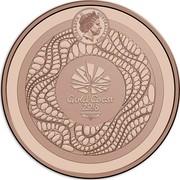 Australia 1 Dollar XXI Commonwealth Games 2018 Proof ELIZABETH II AUSTRALIA 2018 IRB GOLD COAST 2018 coin obverse