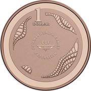 Australia 1 Dollar XXI Commonwealth Games 2018 Proof 1 DOLLAR COMMONWEALTH GAMES FEDERATION CGF coin reverse
