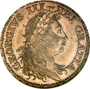 UK 1 Guinea George III Pattern 1782 KM# PnA59 GEORGIVS III DEI GRATIA coin obverse