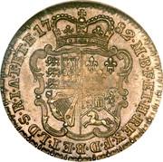 UK 1 Guinea George III Pattern 1782 KM# PnA59 17 82 M B F ET H REX F D B ET L D S R I A T ET E coin reverse