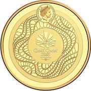 Australia 10 Dollars XXI Commonwealth Games 2018 Proof ELIZABETH II AUSTRALIA 2018 IRB GOLD COAST 2018 coin obverse