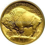 USA $10 Ten Dollars Gold Buffalo 2008 W KM# 412 UNITED STATES OF AMERICA E PLURIBUS UNUM $10 1/4 OZ. .9999 FINE GOLD IN GOD WE TRUST coin reverse