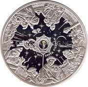 Ukraine 50 Hryven 2009 Proof KM# 564 Reform Coinage coin reverse