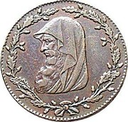 UK Halfpenny (Anglesey - Parys Mines Company / Druid Series) - coin obverse