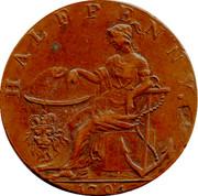 UK Halfpenny (Norfolk - Norwich / R. Campin) HALFPENNY. 1794 coin reverse