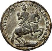 USA Real Val 24 1688 KM# Tn5.4 American Plantations IACOBVS II DGMAG BRI FRAN ET HIB REX coin obverse