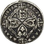 USA Real Val 24 1688 KM# Tn6 American Plantations REAL HISPAN VAL 24 PAKT coin reverse