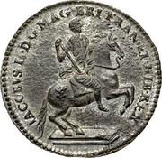 USA Real Val 24 Plantation Token 1688 KM# Tn5.1 IACOBVS II DGMAG BRI FRAN ET HIB REX coin obverse