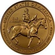 USA $10 Andrew Jackson's Liberty 2008 W KM# 432 ∙ UNITED STATES OF AMERICA ∙ E PLURIBUS UNUM ∙ $10 ∙ 1/2 OZ. .9999 FINE GOLD OLD HICKORY coin reverse