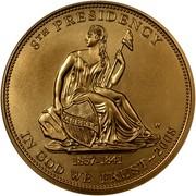 USA $10 Martin van Buren's Liberty 2008 W KM# 433 8th PRESIDENCY IN GOD WE TRUST 1837-1841 coin obverse