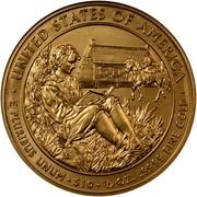 USA $10 Martin van Buren's Liberty 2008 W KM# 433 ∙ UNITED STATES OF AMERICA ∙ E PLURIBUS UNUM ∙ $10 ∙ 1/2 OZ. .9999 FINE GOLD coin reverse