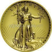 USA Twenty Dollars St. Gaudens Double Eagle - Ultra high relief 2009 KM# 464 LIBERTY M·M·I·X coin obverse