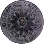USA Cent 1783 KM# EA6.1 Nova Constellatio NOVA • CONSTELLATIO coin obverse