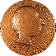 USA Cent 1784 KM# Tn41 Washington Pieces WASHINGTON THE... coin obverse