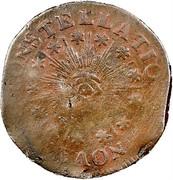 USA Cent 1786 KM# EA10 Nova Constellatio NOVA • CONSTELLATIO • coin obverse