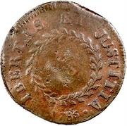 USA Cent 1786 KM# EA10 Nova Constellatio • LIBERTAS • JUSTITIA • U.S ...5 coin reverse