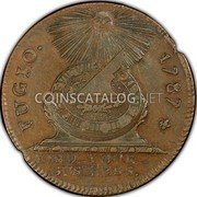 USA Cent Fugio cent 1787 KM# EA33 FUGIO. MIND_YOUR_BUSINESS. coin obverse