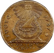 USA Cent 1787 KM# EA32.3 Fugio Cents FUGIO. MIND_YOUR_BUSINESS. coin obverse