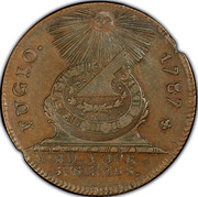 USA Cent Fugio 1787 KM# EA33 FUGIO. MIND_YOUR_BUSINESS. coin obverse