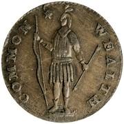 USA Cent Massachusetts 1788 KM# 20.6 COMMON * WEALTH coin obverse