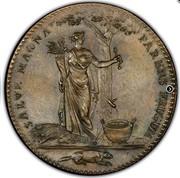USA Half Dollar 1796 KM# Tn87.2 Castorland SALVE MAGNA PARENS FRUGUM coin reverse