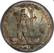 USA Half Dollar 1796 KM# Tn87.3 Castorland SALVE MAGNA PARENS FRUGUM coin reverse