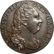 USA Halfpenny 1774 KM# Tn26 Virginia Halfpennies GEORGIVS • III DEI • GRATIA • coin obverse