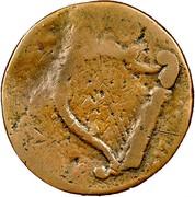USA Hampshire New 1776 KM# 1 coin reverse