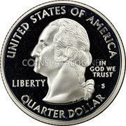 USA Quarter Dollar Arizona 2008 KM# 423a UNITED STATES OF AMERICA QUARTER DOLLAR LIBERTY IN GOD WE TRUST coin obverse