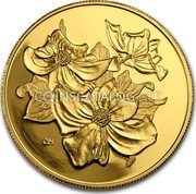 Canada 350 Dollars 2000 Proof KM# 404 Circulation Coins coin reverse
