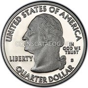 USA Quarter Dollar American Samoa 2009 KM# 448a UNITED STATES OF AMERICA QUARTER DOLLAR LIBERTY IN GOD WE TRUST coin obverse