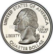 USA Quarter Dollar Hawaii 2008 KM# 425a UNITED STATES OF AMERICA QUARTER DOLLAR LIBERTY IN GOD WE TRUST coin obverse