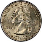 USA Quarter Dollar Hawaii 2008 KM# 425 UNITED STATES OF AMERICA QUARTER DOLLAR LIBERTY IN GOD WE TRUST coin obverse