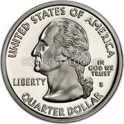 USA Quarter Dollar Kentucky 2001 KM# 322a UNITED STATES OF AMERICA QUARTER DOLLAR LIBERTY IN GOD WE TRUST coin obverse