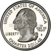 USA Quarter Dollar New Mexico 2008 KM# 422a UNITED STATES OF AMERICA QUARTER DOLLAR LIBERTY IN GOD WE TRUST coin obverse