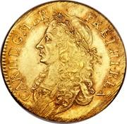 UK 1 Broad Charles II Pattern strike 1662 KM# Pn32 CAR II D∙G∙M∙BR ∙ FR∙ET∙HI∙REX coin obverse