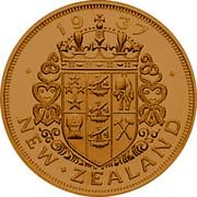 New Zealand 1 Crown Edward VIII Pattern 1937 X# 12 1937 NEW ZEALAND coin reverse