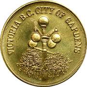 Canada 1 Dollar Captain James Cook at Nootka Sound 1978 UNC VICTORIA B.C. CITY OF GARDENS coin obverse