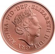 UK 1 Sovereign Sovereign 2020 Privy 75th Anniversary of VE Day ELIZABETH II DEI GRA REGINA FID DEF J.C coin obverse