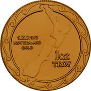 New Zealand 200 Dollars (1 Ounce) 1 Ounce (Kiwi) 1985 X# 22 .9999 FINE NEW ZEALAND GOLD 1 OZ TROY coin reverse