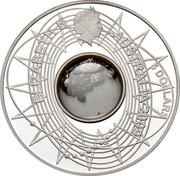 Australia 5 Dollars International Year of Astronomy Meteorite 2009 Proof ELIZABETH II AUSTRALIA 5 DOLLARS coin obverse
