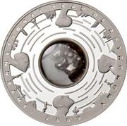 Australia 5 Dollars International Year of Astronomy Meteorite 2009 Proof INTERNATIONAL YEAR OF ASTRONOMY 2009 coin reverse