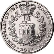 UK 5 Pounds House of Windsor Centenary Clad 2017 CENTENARY OF THE HOUSE OF WINDSOR 2017 coin reverse