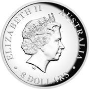 Australia 8 Dollars Australian Koala 2014 Proof ELIZABETH II AUSTRALIA 8 DOLLARS IRB coin obverse