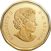 Canada Dollar 100th Anniversary of The Toronto Maple Leafs 2017 UNC ELIZABETH II D • G • REGINA SB coin obverse