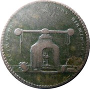 UK Farthing Warwickshire - Lutwyche ND LUTWYCHES MANUFACTURORY BIRMINGHAM coin reverse