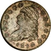 USA One Cent Private Restrike Mule 1818 Unique LIBERTY 1818 coin obverse